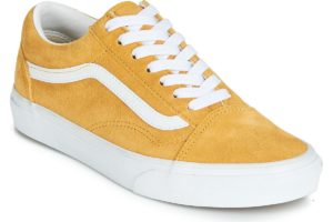 vans-old skool s (trainers) in-womens-yellow-vn0a4bv5v771-yellow-trainers-womens