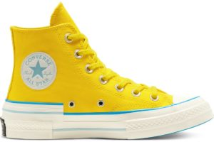converse-all star high-womens-yellow-568801C-yellow-trainers-womens