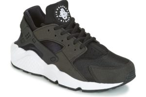 nike-huarache run s (trainers) in-womens-black-634835-006-black-trainers-womens