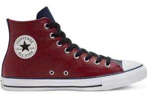 converse-all star high-mens-red-168539C-red-trainers-mens