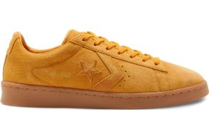 converse-pro leather-womens-yellow-168599C-yellow-trainers-womens