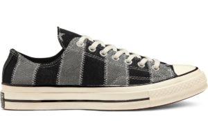 converse-all star ox-womens-black-167708C-black-trainers-womens