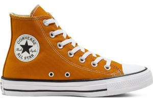 converse-all star high-womens-yellow-168573C-yellow-trainers-womens
