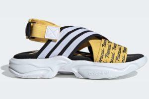 adidas-magmur sandals-womens-yellow-EG6213-yellow-trainers-womens