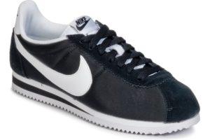 nike-cortez nylon s (trainers) in-womens-black-749864-011-black-trainers-womens