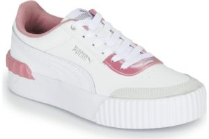 puma-carina lift s (trainers) in-womens-white-374141-01-white-trainers-womens