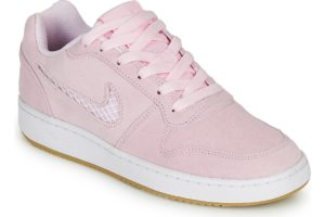 nike-ebernon low s (trainers) in-womens-pink-aq2232-600-pink-trainers-womens