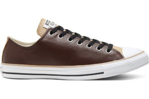 converse-all star ox-mens-brown-168541C-brown-trainers-mens