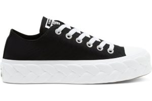 converse-all star ox-womens-black-568894C-black-trainers-womens