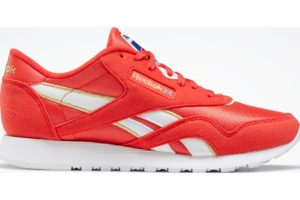 reebok-classic nylons-Women-red-EG5910-red-trainers-womens