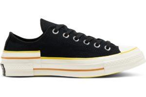 converse-all star ox-womens-black-568802C-black-trainers-womens
