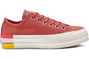 converse-all star ox-womens-pink-564995C-pink-trainers-womens