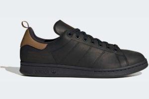 adidas-stan smiths-mens-black-FZ3477-black-trainers-mens