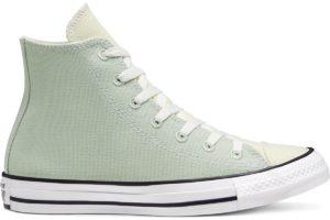 converse-all star high-womens-green-167644C-green-trainers-womens