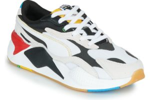 puma-rs-x3 unity collection s (trainers) in-womens-white-373308-01-white-trainers-womens
