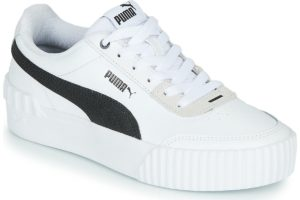 puma-carina lift s (trainers) in-womens-white-373031-02-white-trainers-womens