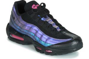 nike-air max 95 premiums (trainers) in-mens-black-538416-021-black-trainers-mens