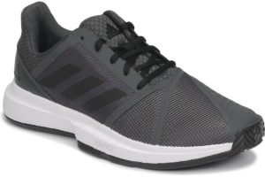 adidas-courtjam bounce c tennis trainers () in-mens-grey-fv2764-grey-trainers-mens