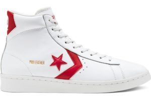 converse-pro leather-womens-red-168131C-red-trainers-womens