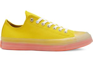 converse-all star ox-womens-yellow-168570C-yellow-trainers-womens