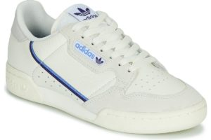 adidas-continental 80 s (trainers) in beige-womens-beige-ee5557-beige-trainers-womens