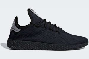 adidas-pharrell williams tennis-mens-black-F35210-black-trainers-mens