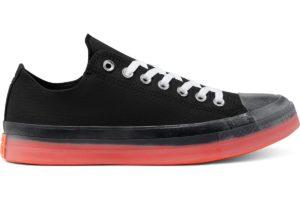 converse-all star ox-womens-black-168568C-black-trainers-womens