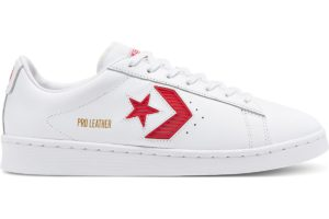 converse-pro leather-womens-red-168620C-red-trainers-womens