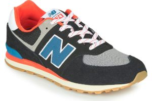 new balance-574 s (trainers) in-womens-blue-gc574sov-blue-trainers-womens