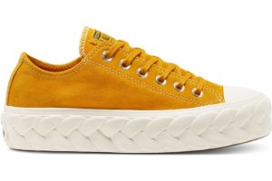 converse-all star ox-womens-yellow-568684C-yellow-trainers-womens