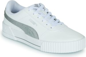 puma-carina s (trainers) in-womens-white-373229-01-white-trainers-womens