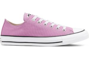 converse-all star ox-womens-pink-166708C-pink-trainers-womens