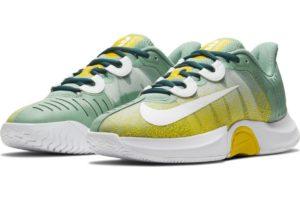 nike-court air zoom-womens-green-ck7580-300-green-trainers-womens