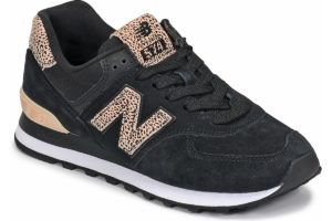 new balance-574 s (trainers) in-womens-black-wl574anc-black-trainers-womens