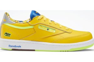 reebok-club c 85s-Kids-yellow-FX3352-yellow-trainers-boys