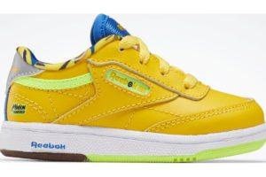 reebok-club c 85s-Kids-yellow-FX3351-yellow-trainers-boys
