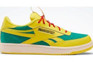 reebok-club c revenges-Kids-yellow-FX1118-yellow-trainers-boys
