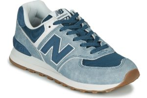 new balance-574 s (trainers) in-womens-blue-ml574spd-blue-trainers-womens