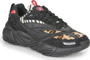fila-rush f s (trainers) in-womens-black-1011028-13y-black-trainers-womens