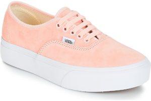 vans-authentic platform 2.0 s (trainers) in-womens-pink-va3av8s3m-pink-trainers-womens