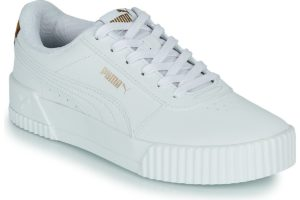 puma-carina s (trainers) in-womens-white-373228-03-white-trainers-womens