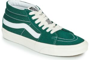 vans-sk8-mid s (high-top trainers) in-womens-green-vn0a3wm322k1-green-trainers-womens