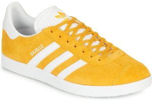 adidas-gazelle s (trainers) in-womens-yellow-ee5507-yellow-trainers-womens