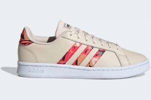 adidas-grand courts-womens-beige-FW6659-beige-trainers-womens
