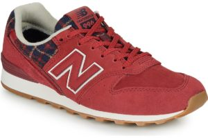 new balance-996 s (trainers) in-womens-red-wl996cg-red-trainers-womens