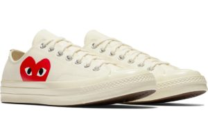 converse-all star ox-womens-red-150207C-red-trainers-womens