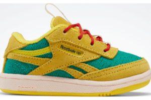 reebok-club c revenges-Kids-yellow-FX1396-yellow-trainers-boys