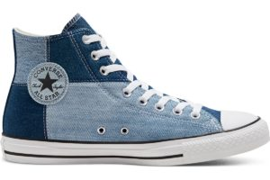 converse-all star high-womens-blue-168843C-blue-trainers-womens
