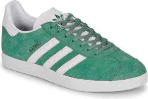 adidas-gazelle s (trainers) in-womens-green-ef5552-green-trainers-womens