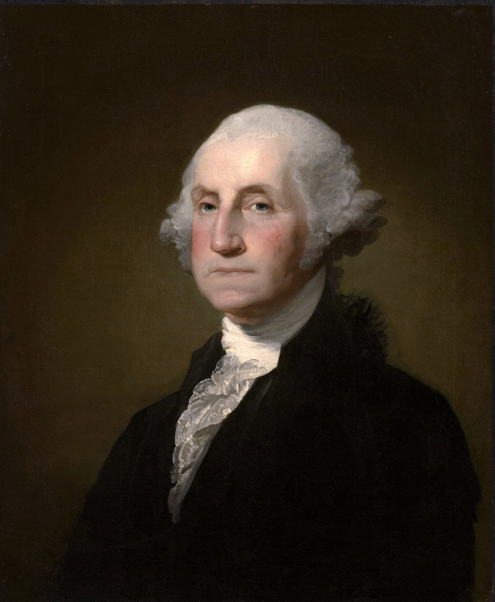 Standard gilbert stuart williamstown portrait of george washington